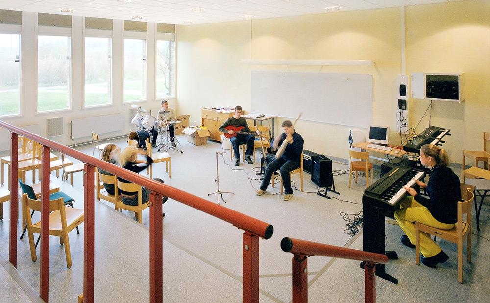 Glasbena šola, vir: ecophon.com