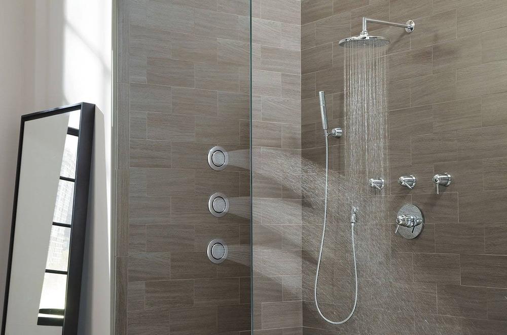 wedi panel shower