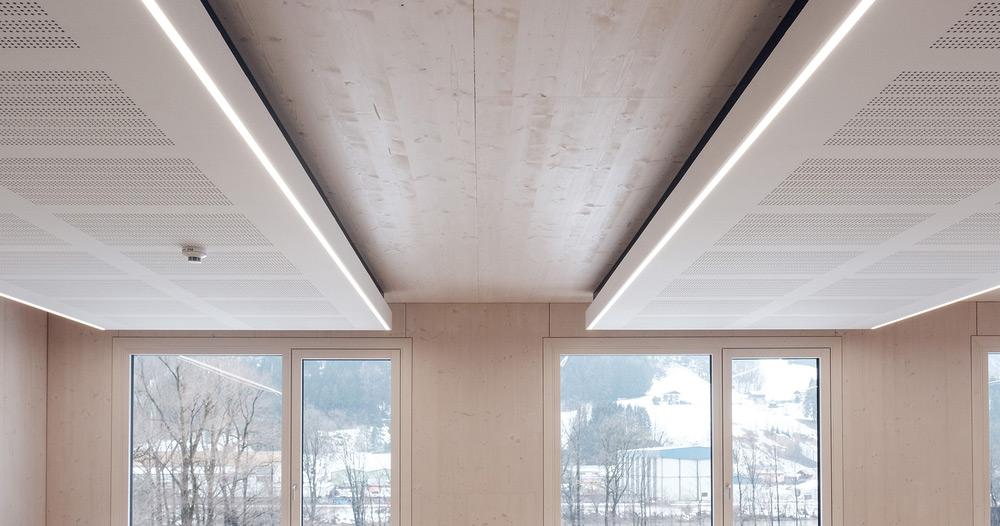 Variotherm akustični strop